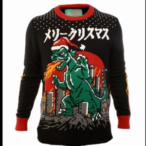 Hybrid The Beatles Abbey Road Ugly Christmas Sweater